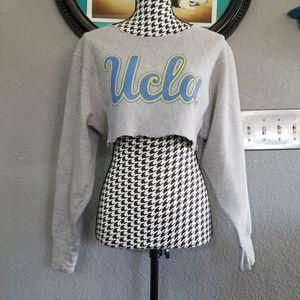 VTG Cropped UCLA Sweatshirt